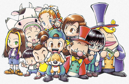 Harvest Moon: Back to Nature Characters