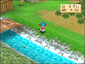 Fishing | Harvest Moon: Back to Nature Guide
