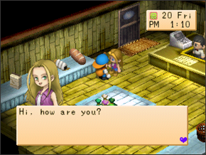 Karen | Harvest Moon: Back to Nature Guide