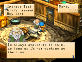 Shops | Harvest Moon: Back to Nature Guide